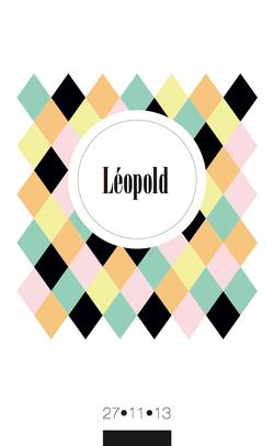 Léopold recto rectangulaire 1