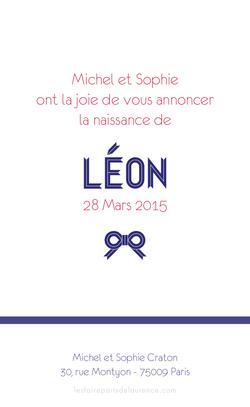 Léon verso rectangulaire 1