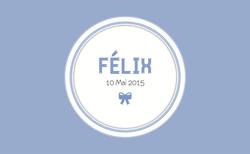 Félix recto 1 rectangulaire
