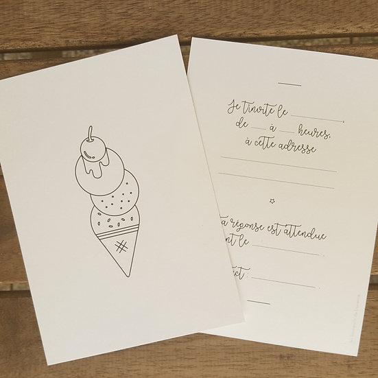 invitation - glace