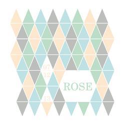 Rose recto carré 1