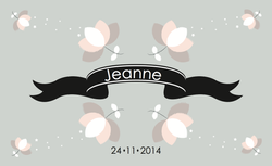 Jeanne recto rectangulaire