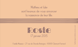 Rosie verso rectangulaire 1
