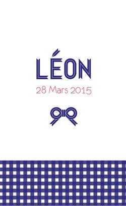 Léon recto rectangulaire 1