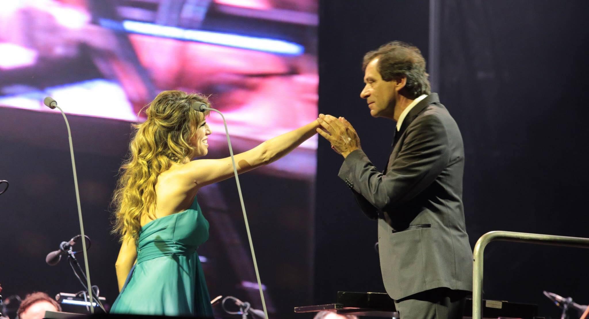 Ilaria & Maestro Marcello Rota