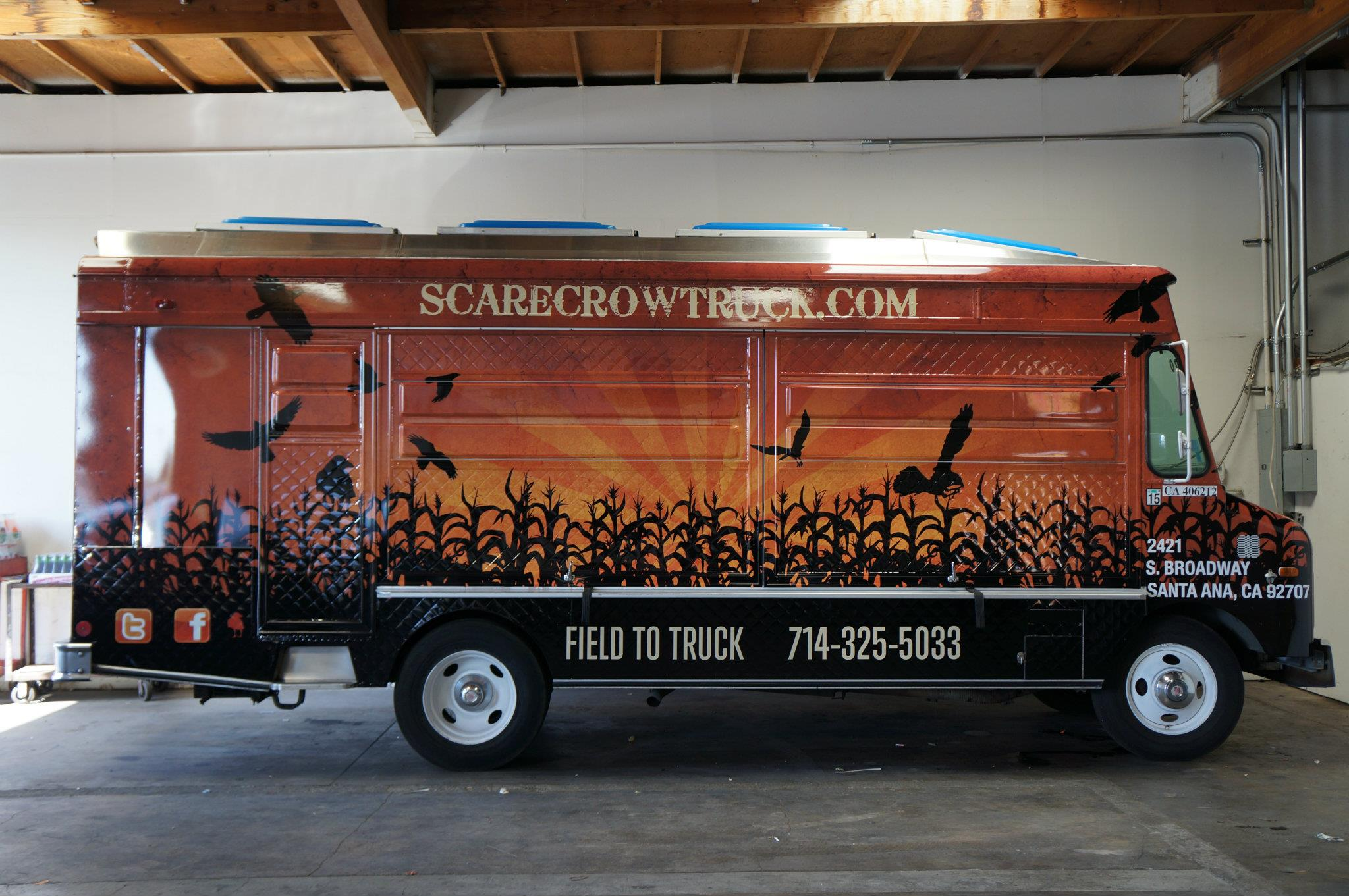Scarecrow Food Truck