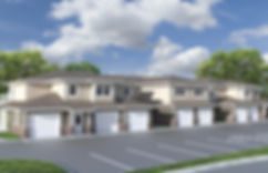Spring Lake Townhomes Exterior Rendering