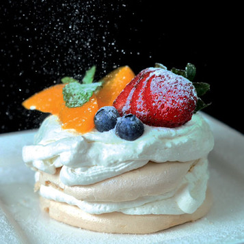 Truly Two Cafe - Peach A Berry Pavlova