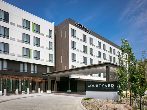 New Courtyard by Marriott Hotel!