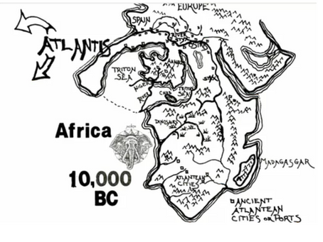 Did Nubia and Atlantis Merge and Form Egypt?