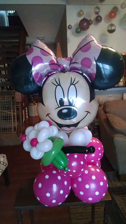 Minnie Mouse table top - $50