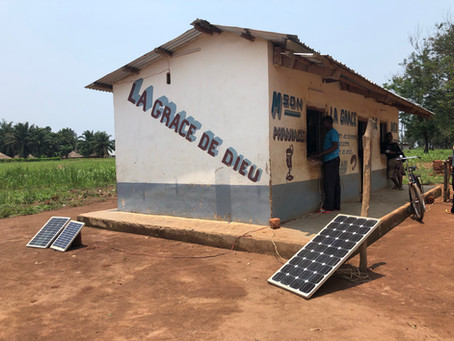 The Sun Also Accelerates: Solar Power Dominates One Corner of Congo