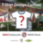 SERVE CC T-Shirt Design Contest Stacked