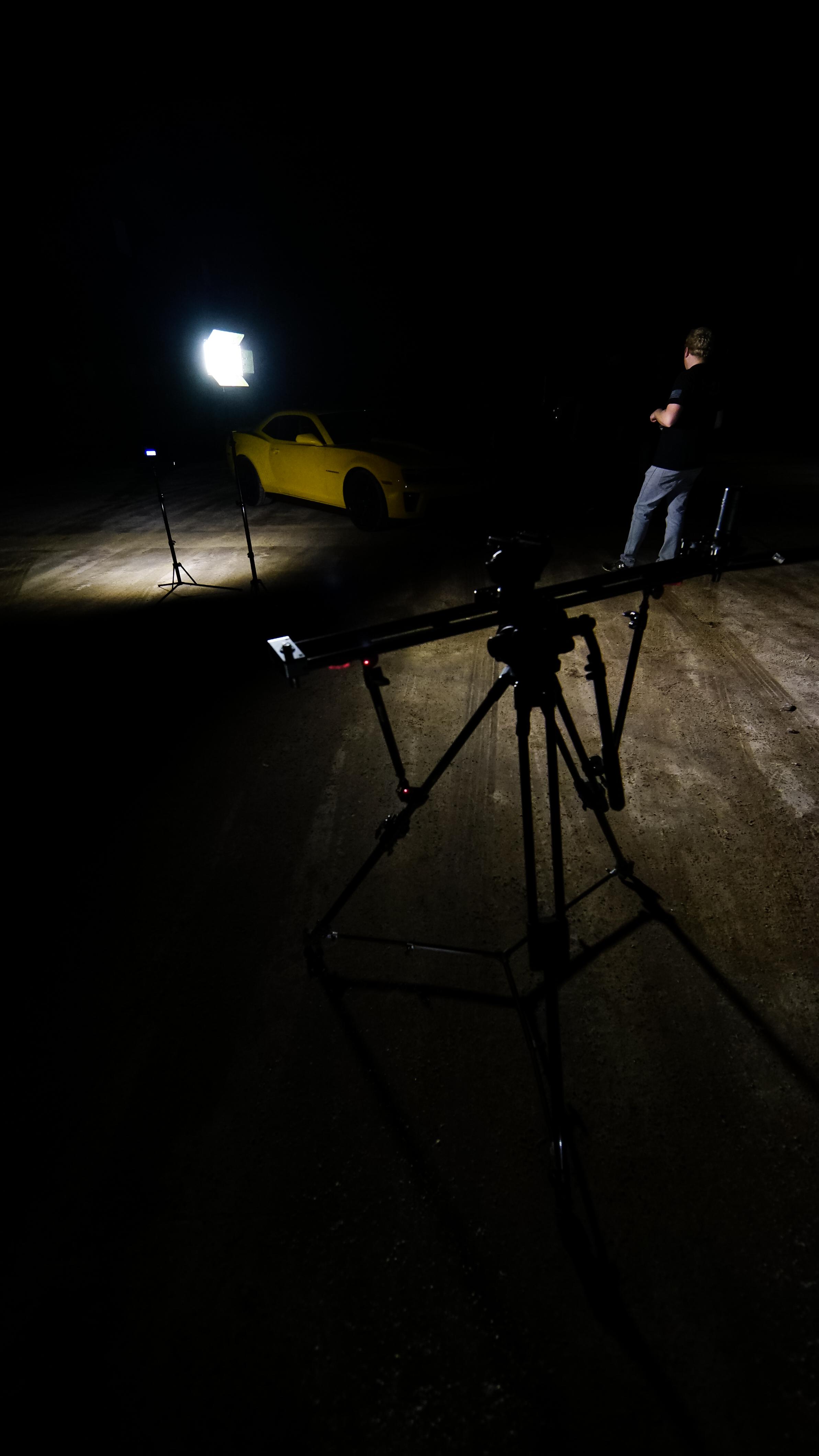 Bad Axe Productions Night Shot