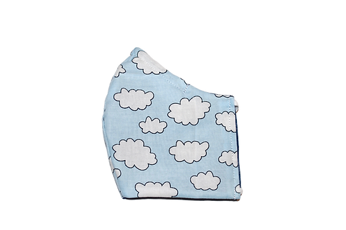 In The Clouds face mask