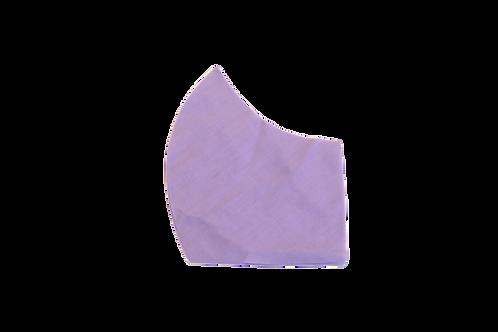 Solids (lavender) face mask