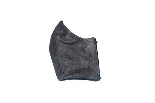 Splattered (charcoal) face mask