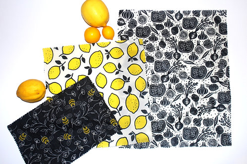 Lemon Citrus Combo - Set of 3 (s, m, l)