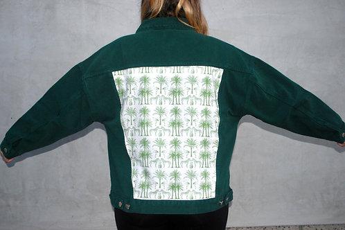 Green Tropics denim jacket
