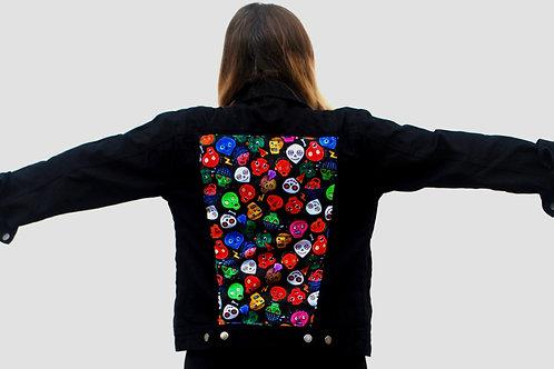 Eternal Friends denim jacket (black)