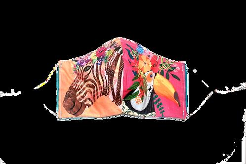 Jungle-mania face mask