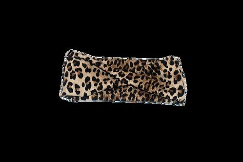 Leopard twist headband