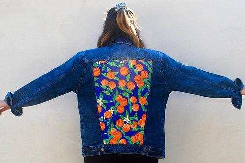 Orange You Glad denim jacket