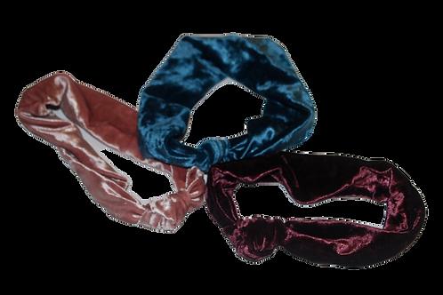 Velvet Knotted headband