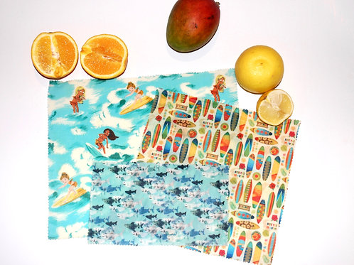 Everybody's Going Surfing Combo - Set of 3 (s, m, l)