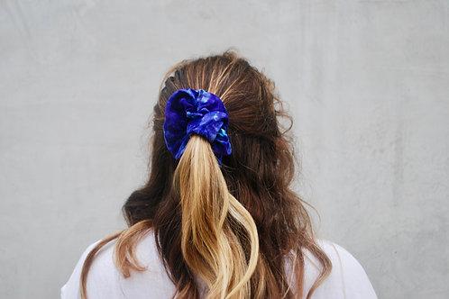 Purple Tie-Dye scrunchie