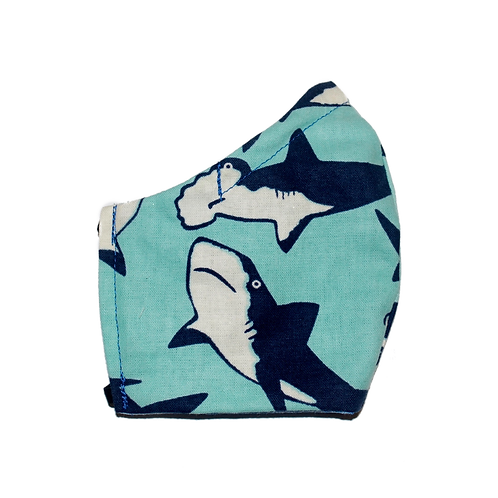 Sharks face mask