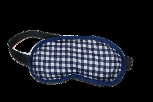 Checkmate eye mask