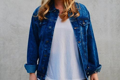 Customize Your Own (dark wash Trucker denim jacket)