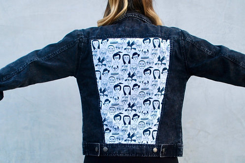 Art History denim jacket