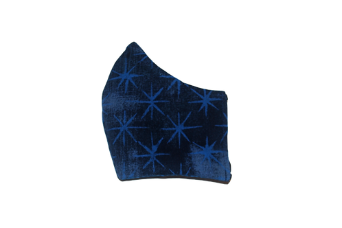 Grungy Stars face mask