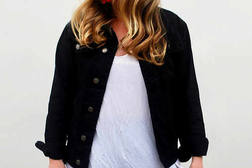Customize Your Own (black Trucker denim jacket)