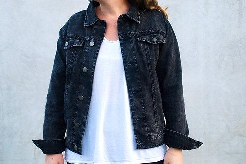 Customize Your Own (washed black Trucker denim jacket)