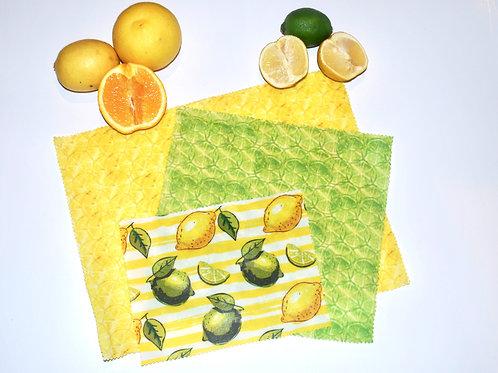 Lemons & Limes Combo - Set of 3 (s, m, l)