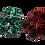 Thumbnail: Green Plaid scrunchie