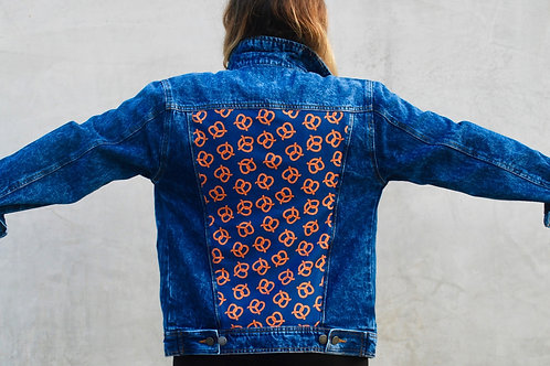 Twisted Pretzel denim jacket
