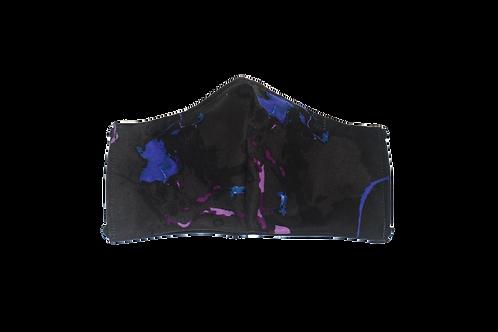 Marbled (black) face mask