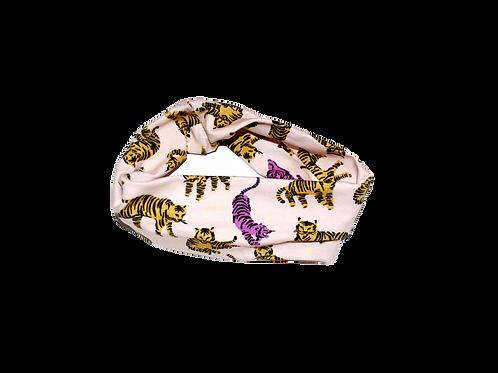 Wild & Free (pink) stretch headband