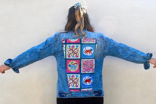 Spirit Animal denim jacket