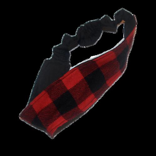 Buffalo Plaid headband