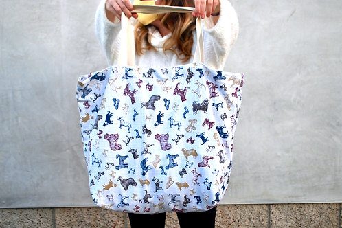 Best Friends tote bag (oversized)