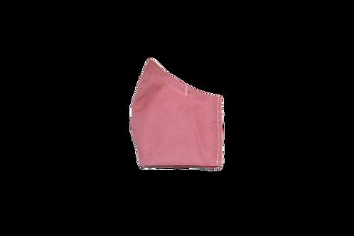 Solids (blush) face mask
