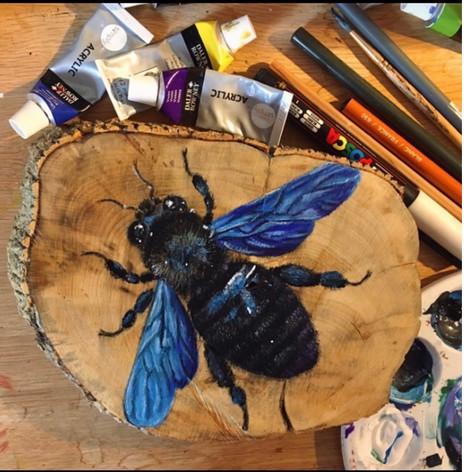 Blue Bee 1