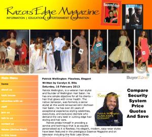 Featured on RazorsEdgeMagazine.com