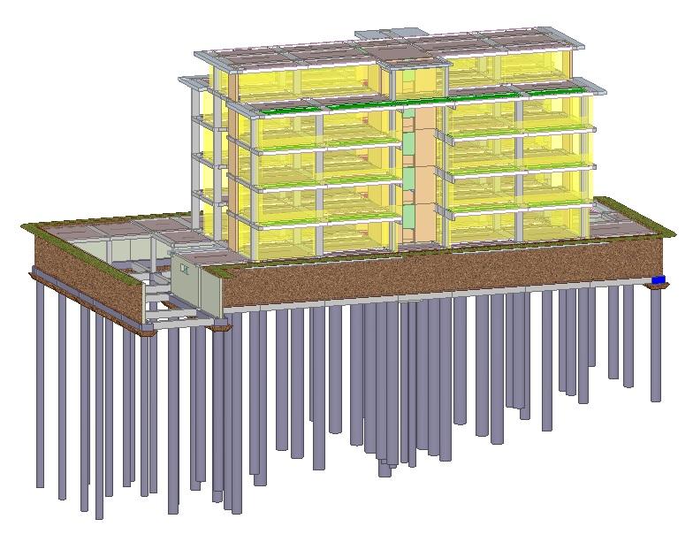 3D Palazzo 5 piani