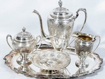 Teapots - Silver Polished